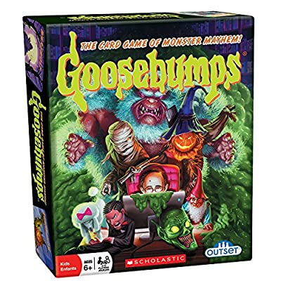 Outset Media - Goosebumps Card Game Pits Monster Vs Monster - 30 Unique Characters (Ages 6+): Toys & Games