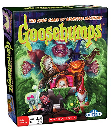 Outset Media - Goosebumps Card Game Pits Monster Vs Monster - 30 Unique Characters (Ages 6+)]()