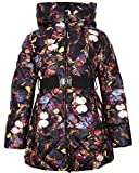Lisa-Rella Girls' Quilted Down Coat in Butterfly Print, Sizes 6-16 (14)