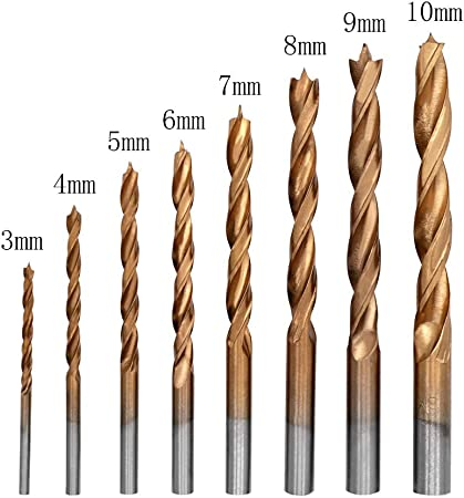 3mm Metric Brad Point Drill Bit