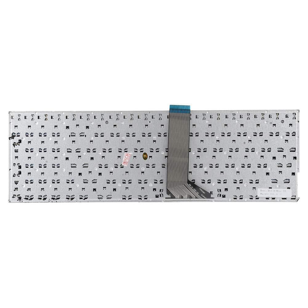 Tastiera Sostitutiva per ASUS K555 X555L R556L F555L Tastiera Sostitutiva X555LD4010 A555L con Cornice Tastiera Sostitutiva per Notebook Nuovo Compatibile Wendry Tastiera Sostitutiva
