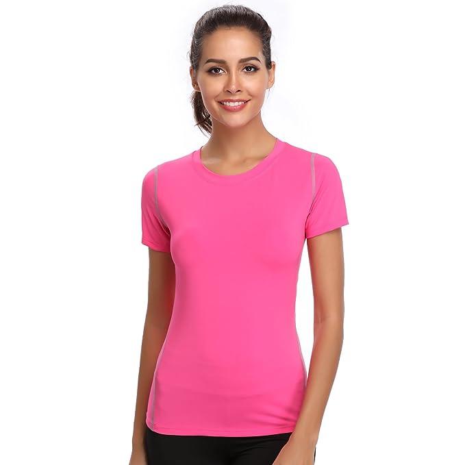 Joyshaper Training Top Damen Yoga Fitness Top T Shirt Quick Dry Kompression  Sport Tanktop Sportshirt Trainingsshirt 79ce35ec1f