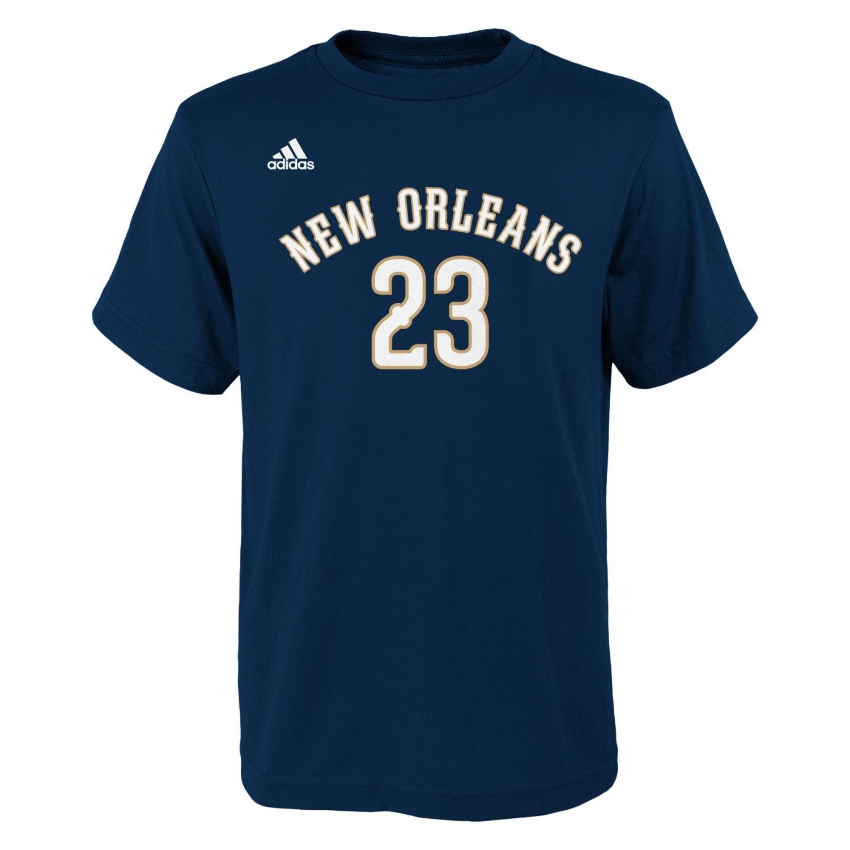 【高い素材】 Anthony Davis New Pelicans Orleans Pelicans Youth Adidas NBA New Player Youth Navy Tシャツ Youth Small B00U0LW2FU, 遠田郡:74e1e10a --- a0267596.xsph.ru