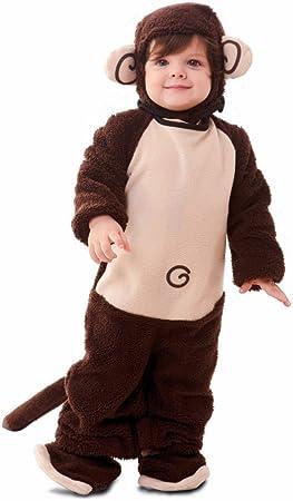 Fyasa 700906-TBB - Disfraz de Mono para niños de 1 a 2 años ...