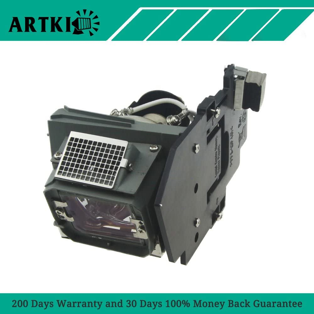 by Artki 4210X Replacement Lamp for Dell 4210X 4310WX 4610X Projector with Housing