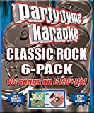 Music : Party Tyme Karaoke - Classic Rock 6-Pack [6 CD][96-Song Party Pack]