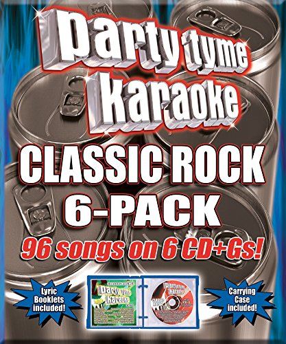 Party Tyme Karaoke - Classic Rock 6-Pack [6 CD][96-Song Party Pack] (6 Karaoke Music)
