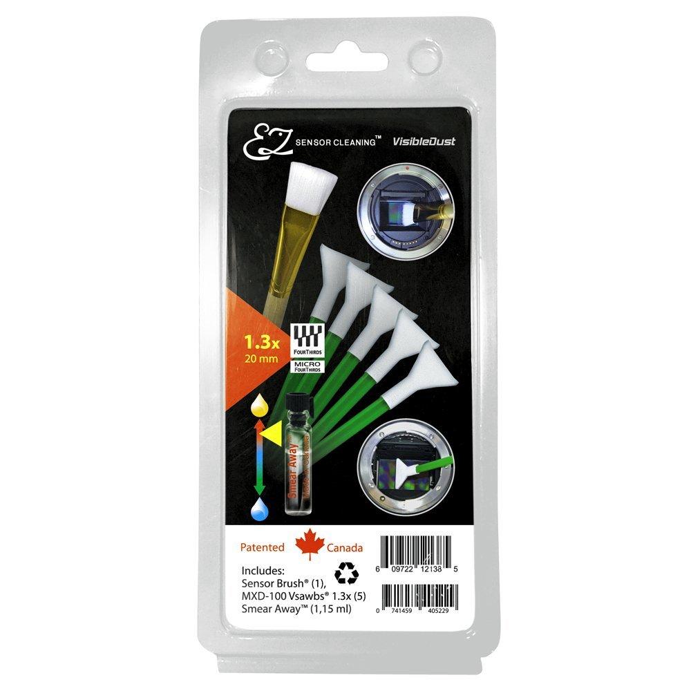 EZ Plus Sensor Cleaning Kit 1.3x / 20 mm (Green Vswabs, Smear Away, Sensor Brush)