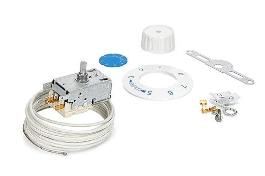 Termostato congelador ranco K59L1275 universal 3 con alarma sonda ...