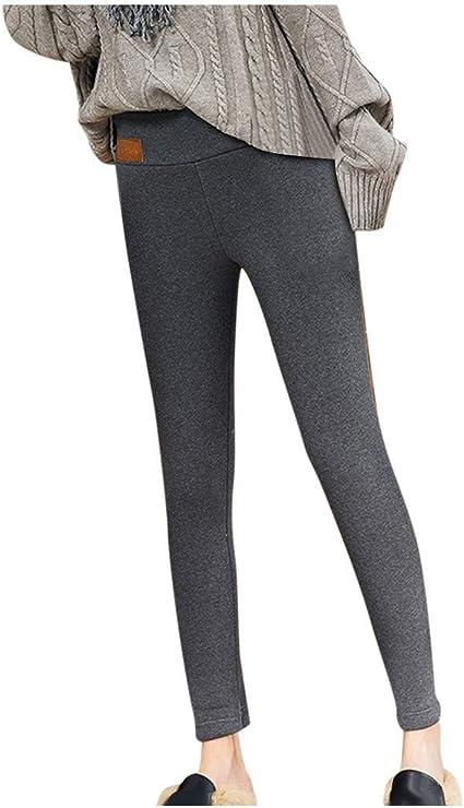 Kabeloring Legging Femme Hiver Super /épais Chaud en Velours Extensible Pantalon Collant Legging Sport pour Femme Long Pantalon