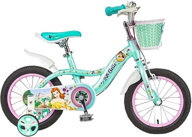 Unknow Bicicletas Pedal Pedal Bicicleta Triciclo de Interior Jardín Verde Seguro Apto para niños y niñas Bicicletas (Color: Verde, Tamaño: 16 Pulgadas): Amazon.es: Hogar