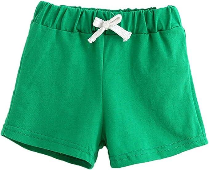 Pantalones cortos para niñas, niños, BBsmile pantalones de verano ...