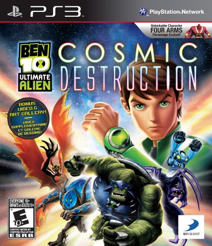 Ben 10: Ultimate Alien - Playstation 3
