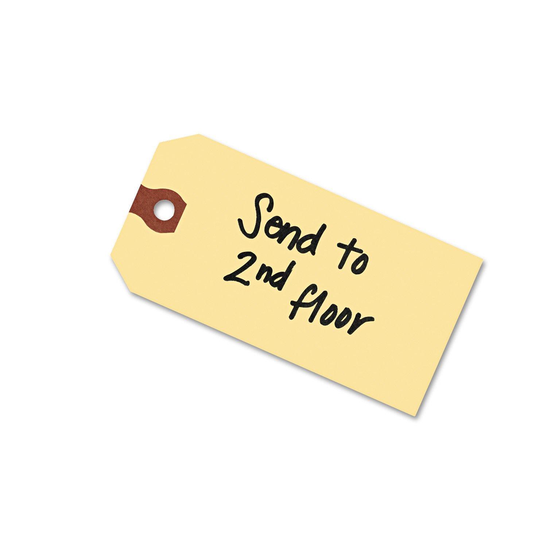 Avery 12303 Unstrung Shipping Tags, 13-pt. Stock, 3 3/4 x 1 7/8, Manila (Box of 1000)