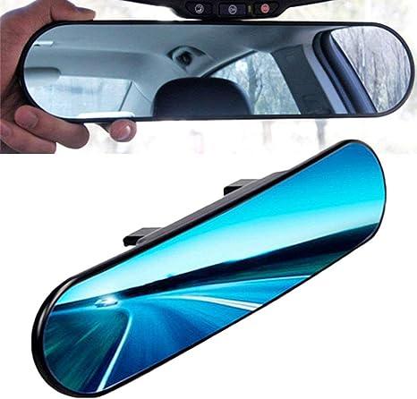 Kentop Panorama Spiegel Rückspiegel Auto Innen Universal Anti Blend Rückspiegel Runder Mit Winkeleinstellung Auto