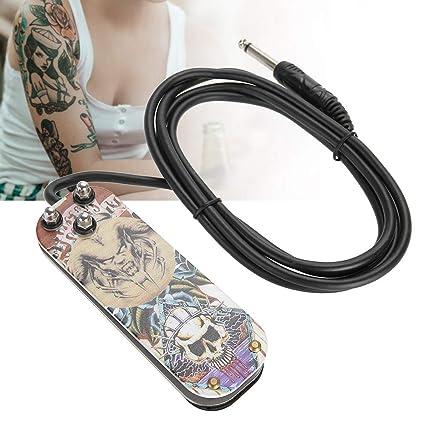 Pedal de tatuaje de acero inoxidable, Accesorios para pies de ...