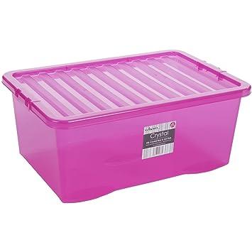 Box mit deckel pink