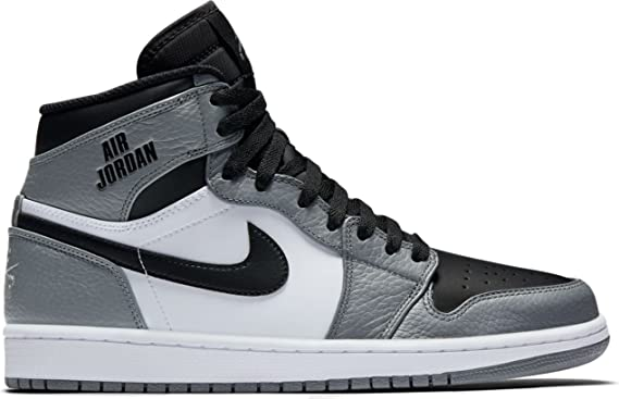 outlet store ffa04 564a0 Nike Air Jordan 1 Retro High Mens Trainers Sneakers Basketball Shoes  Trainers, Grau (Cool
