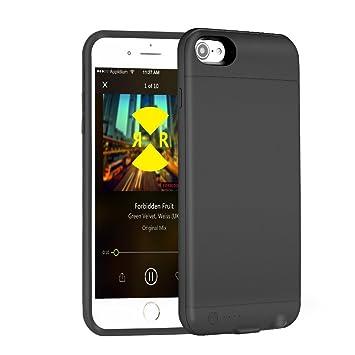 752ee6f5d19 iPhone 7/7 Plus Funda Cargador de batería con construido en 3,5 mm ...