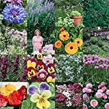 Beautiful and Edible Flowers - Easy to Grow from Seeds