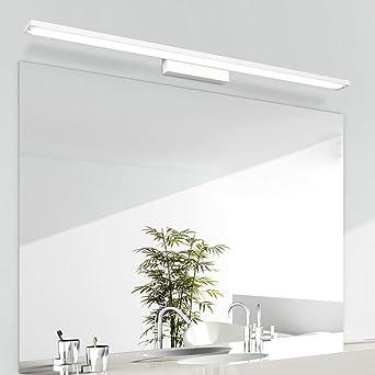 LED Scheinwerfer Wasserdicht Badezimmerspiegel Badezimmer Ideen Modernen  Minimalistischen Badezimmerspiegel Licht Aluminium L1