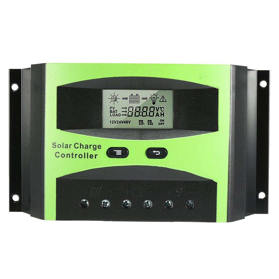 uxcell Intelligent PWM 40A Solar Panel Charge Controller 12V-24V Battery Regulator PV2440