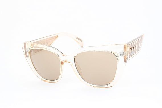 Just Cavalli JC782S-57G Gafas de sol, Shiny Beige/Mirror ...