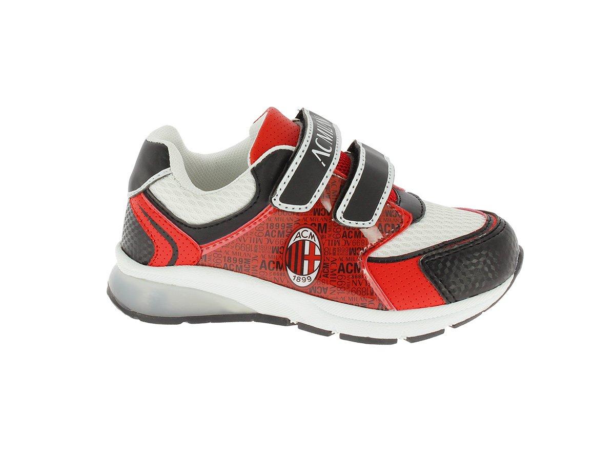 Zapato Training Bimbo niño AC Milan producto oficial (negro ...