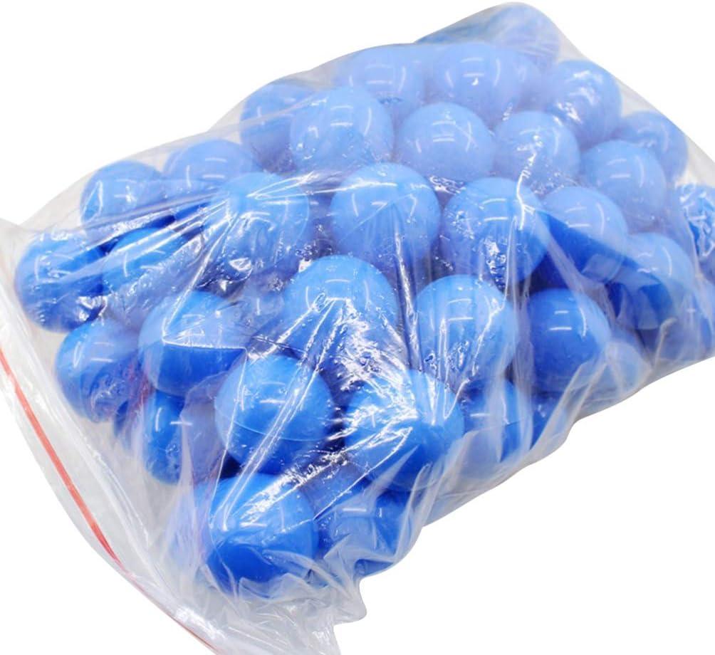 Holibanna Bolas de Pong de Cerveza Bolas de lotería de plástico Bolas de Actividad de Mesa Hueca Juego de Fiesta 40mm de diámetro 25 Piezas
