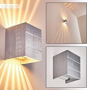 Kristall 6W LED Wandlampe Wandleuchte Dekolicht Flurlampe Wandlicht Warmweiß DHL