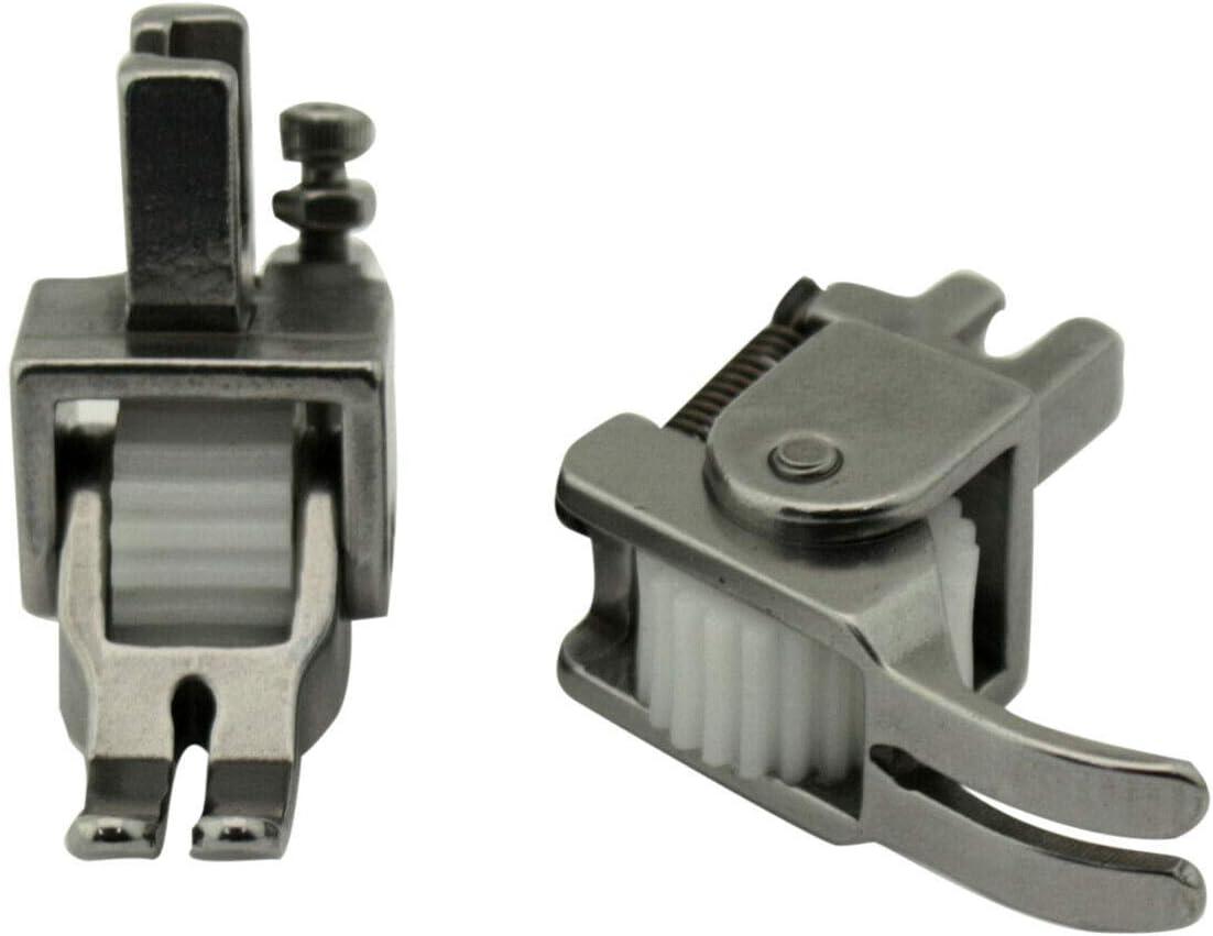 Heavy Duty Metal Wheel Roller Foot for Industrial Single Needle Sewing Machine