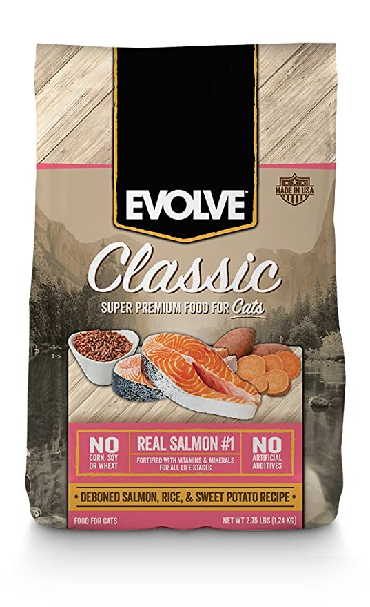 Amazon.com : Evolve Maintenance Cat Food - 3Lb : Dry Pet Food : Pet Supplies