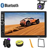 Car Stereo 2 Din,7 inch Touch Screen MP5 /MP4/MP3 Multimedia Player,Bluetooth Audio,Car Stereo Receivers,FM Radio,USB/SD…