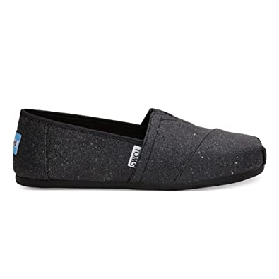 179323405900 Amazon.com | TOMS Women's Black Glimmer Classic 10011317 (Size: 8.5) |  Loafers & Slip-Ons