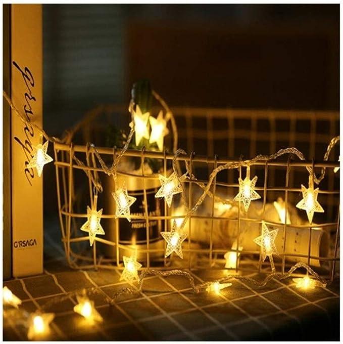 Cubierta fiesta al aire libre y luces de decoración 1M