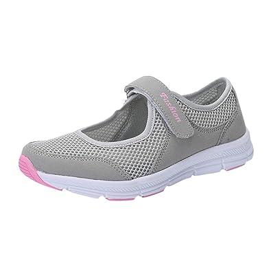 9560da75f496e Overdose-Chaussures Chaussures Cateau Soldes Femme Tennis à Enfiler Pas  Cher Trainers en Maille Plates