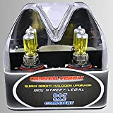 98 prelude fog lights - ICBEAMER 9006 HB4 12V 100W Direct Replacement for Auto Vehicle Factory Halogen Light Bulbs [Color Yellow] w/Mbox by
