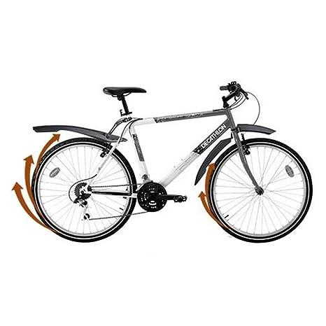 delmkin guardabarros - Guardabarros con luz LED trasera para su bicicleta y Mountain Bike - 26 pulgadas, azul: Amazon.es: Deportes y aire libre
