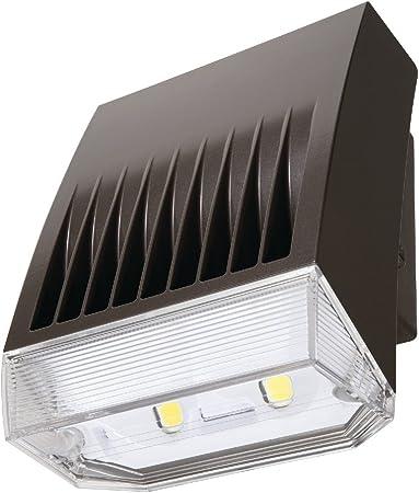 30W LED Wallpack 5000K Carbon Bronze Howard Lighting Lumark Crosstour 30 Watt
