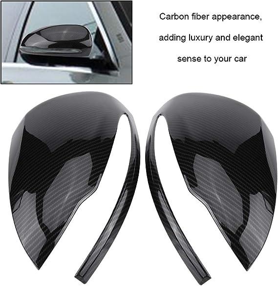 Kimiss Karbonfaser Rückspiegel Abdeckungen Für Pkw 1 Paar Auto