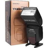 ThreeCat Speedlite YN-568EX II - Flash con Brazo para Speedlite Canon 5D 7D 60D 50D LF246, Negro (Negro)