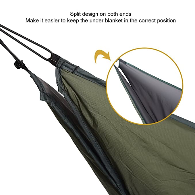 -5 C To -17 C Camp Sleeping Gear Onetigris Winter Hammock Under-quilt Goose Down Full Length Hammock Underquilt Under Blanket 23 F To 1.4 F