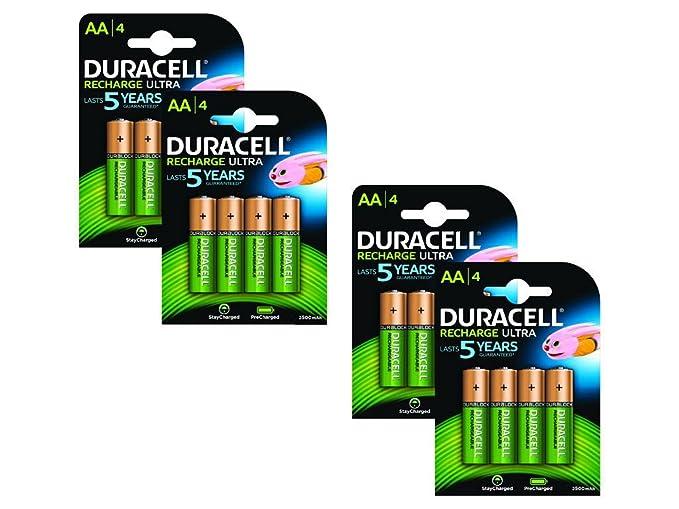 Duracell BUN0052B batería recargable Nickel-Metal Hydride (NiMH) 2400 mAh 1.2 V - Batería/Pila recargable (2400 mAh, Nickel-Metal Hydride (NiMH), AA, ...