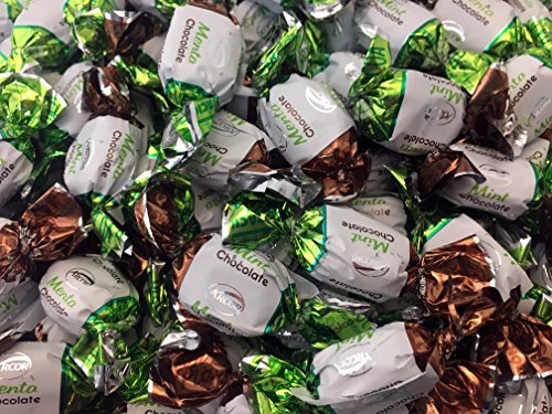 Arcor Chocolate Filled Mints Hard Candy (Pack of 2 Pounds) (Chocolate Filled Mints)