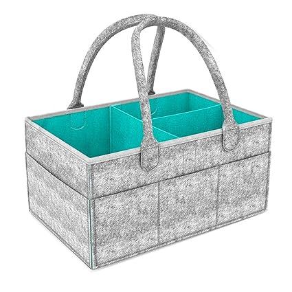 Amazon.com: Maserfaliw Bolsa de almacenamiento de pañales ...
