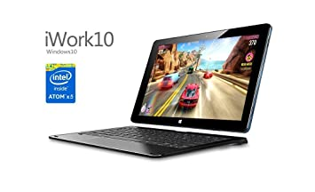 Tablet PC híbrido 2 en 1 Convertible Ultrabook Iwork10 i15t Flagship 64 GB pantalla IPS HD ...