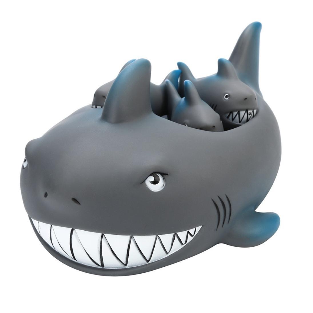 Gris Juguetes Tibur/ón Animados con Sonidos Toy Divertidos Lindos para Agua Piscina Ba/ño Fossrn Juguete Ba/ño Bebe