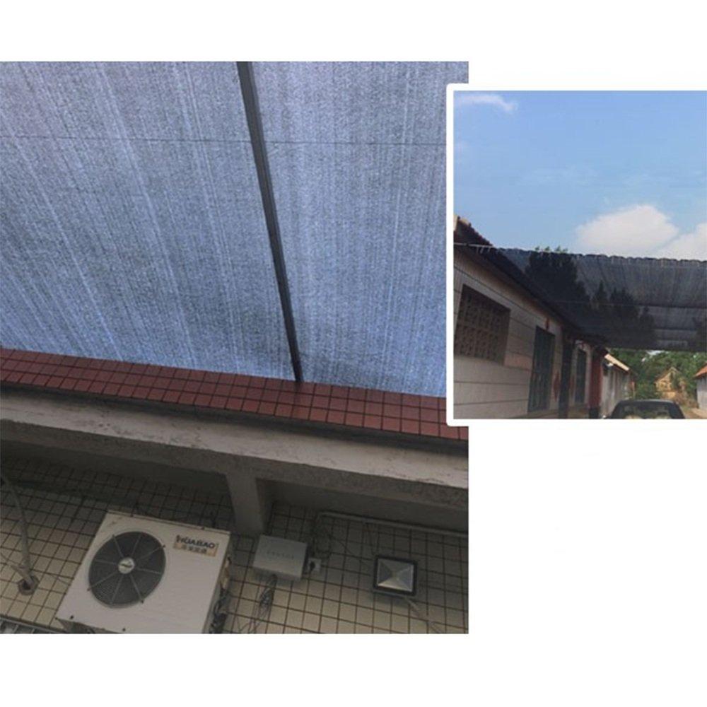 LQQGXL 8-Pin-Sonnenschutznetz, 8-Pin-Sonnenschutznetz, LQQGXL Balkon Garten Blume Pflanze Schatten Netz im Freien Anti-UV-Sonnenschutz-Isolierung net Tragbarer Sonnenschirm 3d184a