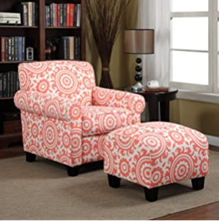 Amazon.com: Portfolio Mira Coastal Living Room Upholstered ...