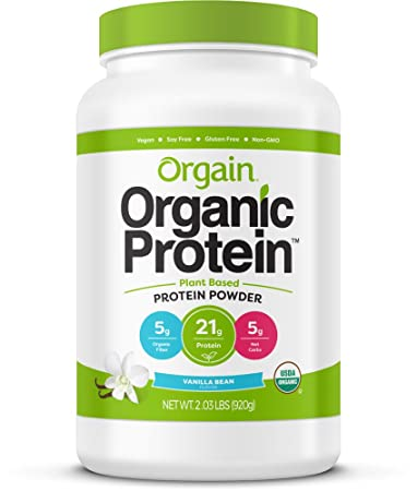 3b98d12ecf5 Amazon.com   Orgain Organic Plant Based Protein Powder